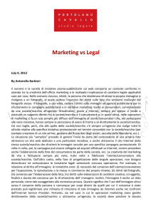 Marketing vs Legal