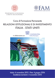 italia - stati uniti - American Chamber Of Commerce in Italy