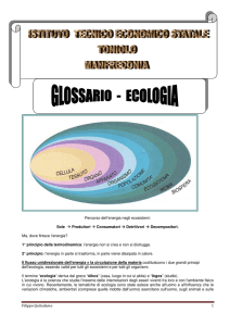 Ecologia - IC San Giovanni Bosco