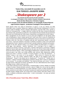 in Shakespeare per 2