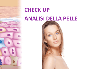 CHECK UP ANALISI DELLA PELLE