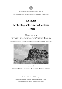 LAYERS Archeologia Territorio Contesti 1 – 2016