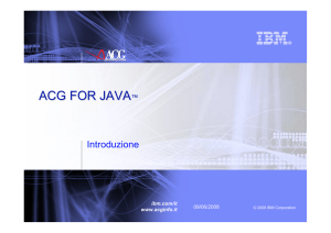 ACG for JAVA