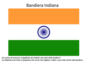 La presentazione in power point sull`India che