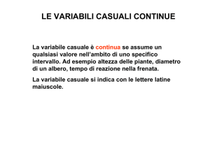 4A GAT- MAT. variabile casuale normale