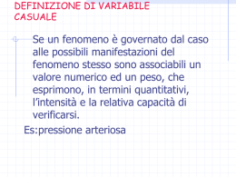 variabile casuale File - e