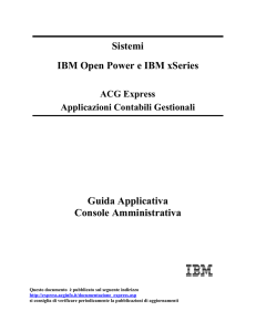 Sistema iSeries IBM