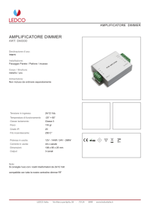 AMPLIFICATORE DIMMER