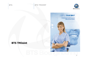 BTS TMJoint - Dental Dealer Srl