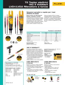 per elettricista accoppiamenti Fluke /& Megger. R2 flessibile test lead 15m lungo
