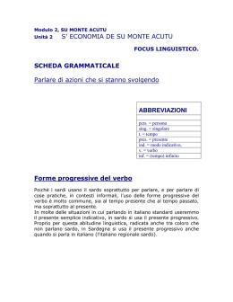CONGIUNTIVO PASSATO FORMAZIONE E CONIUGAZIONE DEL. II Unidade - Biblioteche  logudoro 956ad5bd8826