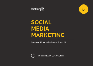 social media marketing - Senza nome resta un sogno