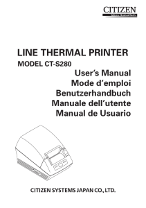 line thermal printer