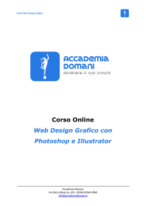 Corso Online Web Design Grafico con Photoshop e Illustrator