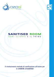 sanitised room