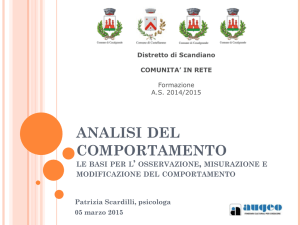 analisi comportamento