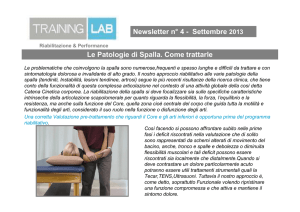 Newsletter 4 - training lab firenze