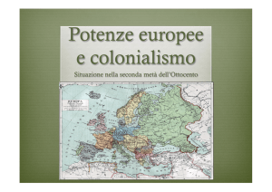 potenze europee e colonialismo seconda metà 800 Archivo