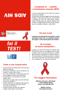 AIDS HIV fai il TEST!