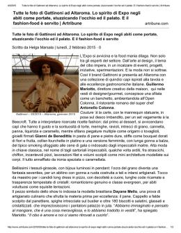 86b3ccce7fa7 Tutte le foto di Gattinoni ad Altaroma. Lo spirito di Expo negli abiti
