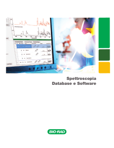 Spettroscopia Database e Software - IR, MS, NMR - Bio-Rad