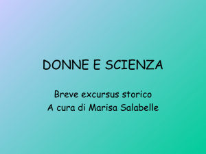 Donne scienza 1