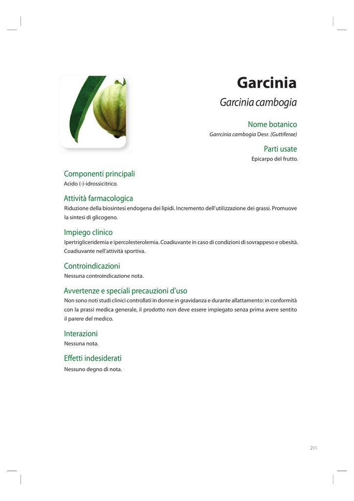garcinia cambogia 60 estratto di hcas