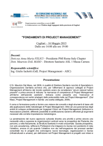 fondamenti di project management