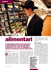 alimentari - Infoteca.it
