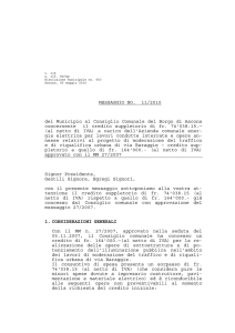 MM 11-2010 Credito suppletorio di fr.74`038.15.