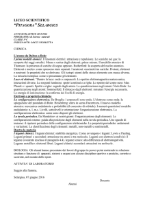 Scienze - Liceo Scientifico Pitagora | Selargius