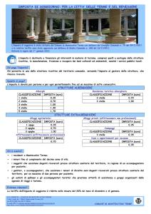 ICP, DPA e COSAP - Carta dei servizi