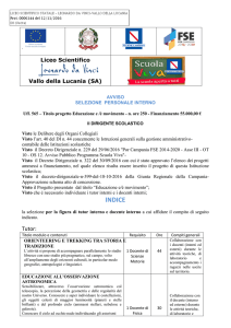 INDICE - Liceo Scientifico