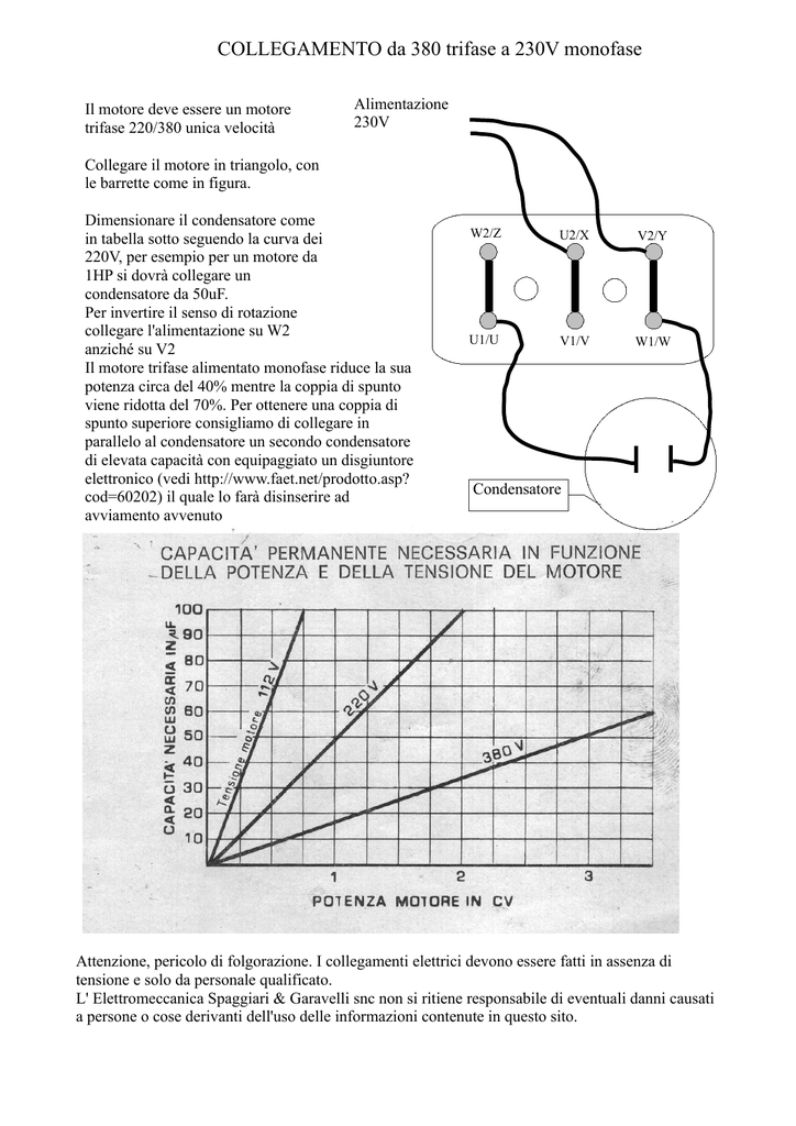 collegare 2 condensatori