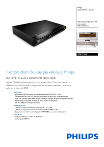 BDP2590B/12 Philips Lettore DVD / Blu-ray