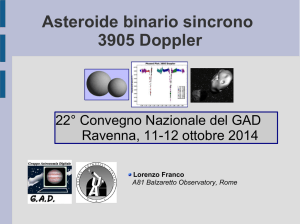 Asteroide binario sincrono 3905 Doppler