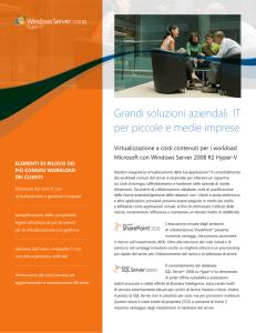 Valutazione della tecnologia di virtualizzazione OpenVZ