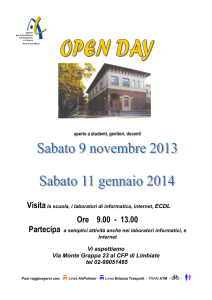 OPENDAY LIMBIATE - AFOL Nord Ovest Milano