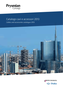 Catalogo cavi e accessori 2013