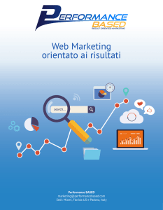 Web Marketing orientato ai risultati