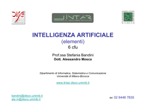 intelligenza artificiale - L.Int.Ar