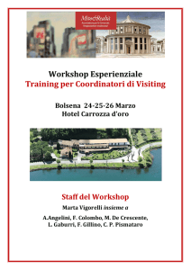 Programma del Workshop