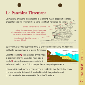 La Panchina tirreniana