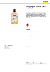 Detergente per superfici in pla- stica 3 in 1 - kaercher