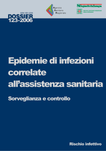 Epidemie di infezioni correlate all`assistenza sanitaria