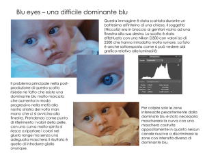 Blu eyes – una difficile dominante blu