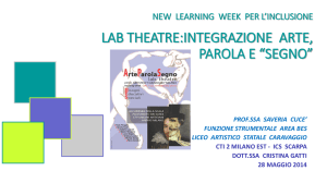 Saveria Cucè – LAB Theatre