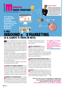 inbound MArketing - Marketing per Liberi Professionisti