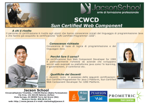 sun certified web component developer