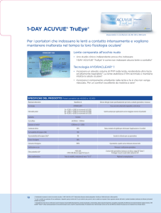 1-DAY ACUVUE® TruEye - Johnson and Johnson Vision Care